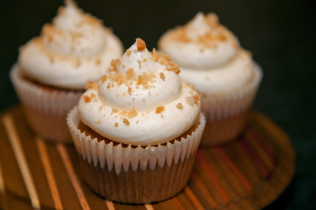 Lemon Macadamia cupcakes from Vegan Cupcakes Take Over the World