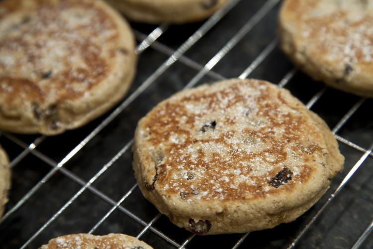 Jam Welsh Cakes Recipe